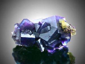 FLUORITE - DANTON MINE, ILLINOIS, USA